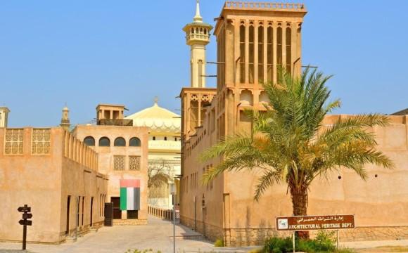 Le torri del vento nella vecchia Dubai